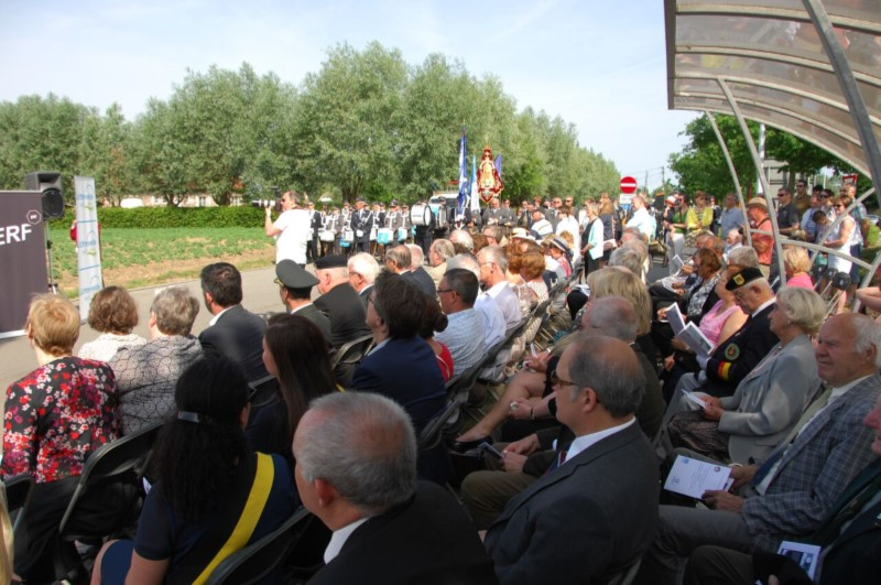 Cérémonie à Lichtervelde, le 28 mai 2017 - Ceremony to Lichtervelde, on May 28th 2017